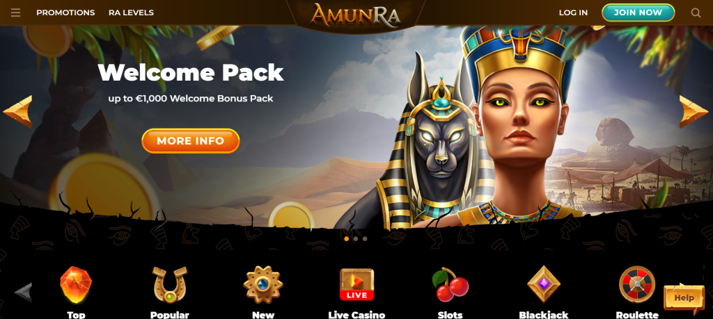AmunRa Casino recension