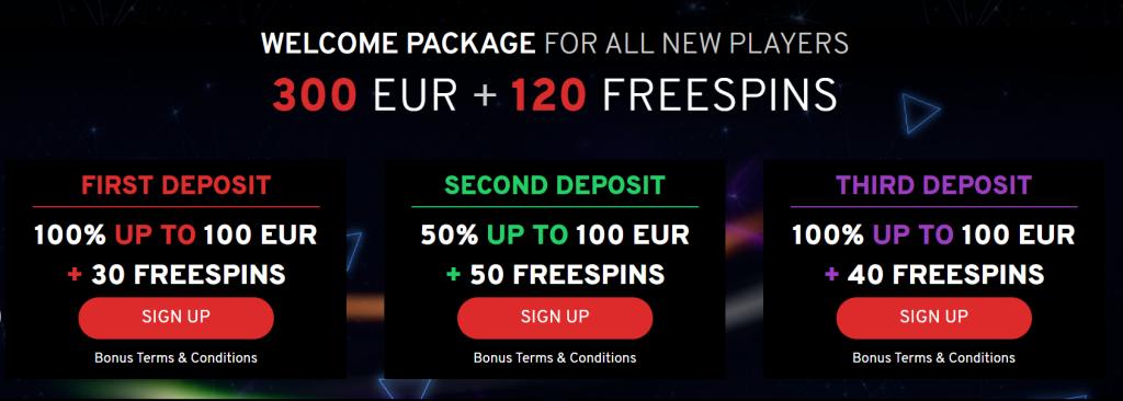 Ta del av N1 Casino bonus